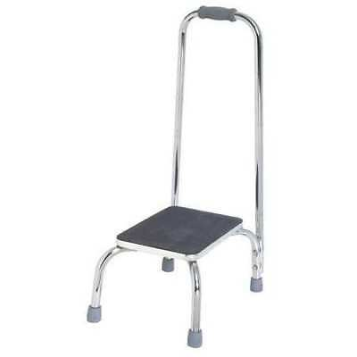 Bath Step Stool,Silver ZORO SELECT 5XTD1