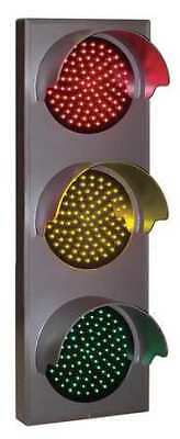 TAPCO 116880 LED Traffic Signal Light,Red/Ylw/Green
