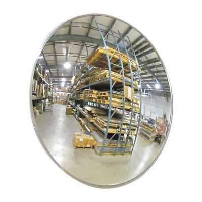 "Scratch-Resist.Convex Mirror,Indoor,18"" ZORO SELECT 9KYX8"