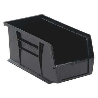 "Black Hang and Stack Bin, 10-7/8""L x 5-1/2""W QUANTUM STORAGE SYSTEMS QUS230BK"