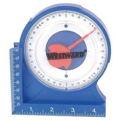WESTWARD 4MRW3 Protractor/Angle Finder,4 5/8In,Magnetic