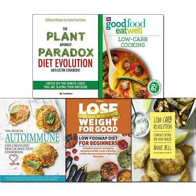 Good Food Low Carb Revolution Medical Autoimmune 5 Books Collection Book set NEW