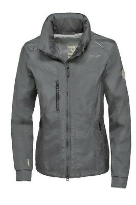 Pikeur Damen Jacke wasserdicht Caress middle grey Gr. 84 B-Ware Note 1
