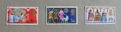 Complete British used stamp set - 1969 Christmas