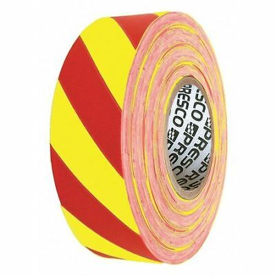 Flagging Tape,Yellow/Red,300ft x 1-3/8In PRESCO PRODUCTS CO SYR-200