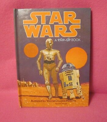 Star Wars - A pop-up book - Random House - Copyright 1979