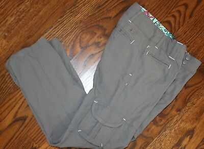 Rei Cargo Pants Girl's Extra Small 6/7 Mint!
