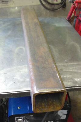 """3"""" X 3"""" X 1/4"""" Square Tube Steel Piece Cut To 24"""" Long"""