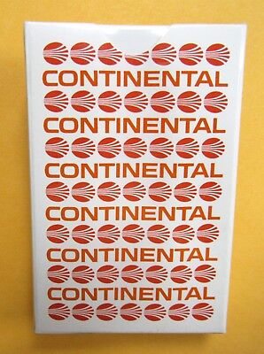 SEALED Vintage UNUSED CONTINENTAL AIRLINES Playing Cards