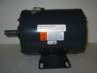 DAYTON General Purpose Industrial  Motor,1 HP,3 Phase,3450 RPM,230/460, 30PT92