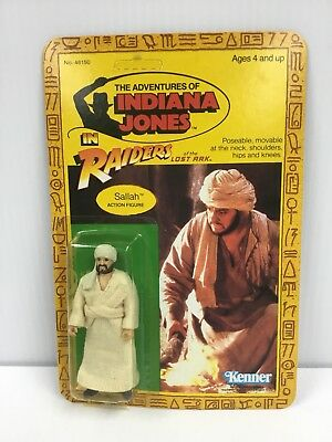 Kenner Indiana Jones Raiders of the Lost Ark Sallah Cracked Bubble MOC