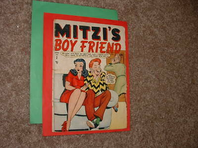 1948 Timely Mitzi's Boy Friend 2 Mitzi and Cindy Decent Good minus Fast Shipping