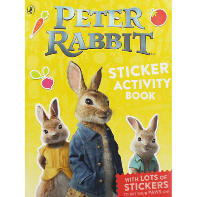 Peter Rabbit - Sticker Activity Book (Paperback), Children's Books, Brand New