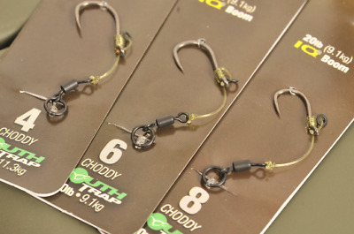 Korda Ready Tied Hinge Carp Rig - All Sizes - Barbed or Barbless
