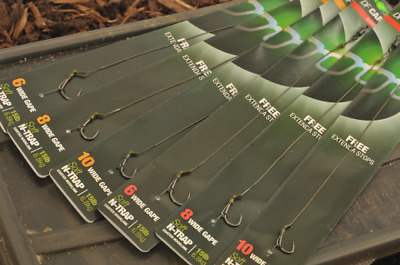 Korda Ready Tied DF Carp Rigs - All Sizes - Barbed or Barbless