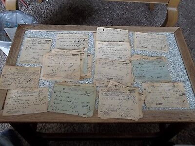 Lot Of 75 Doctors Prescriptions 1931 Port Norfolk, Va. Portsmouth Va.