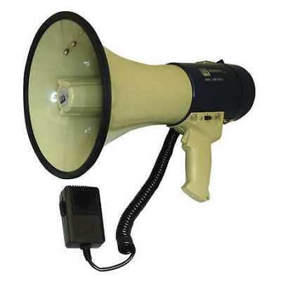 ZORO SELECT 3YMN1 Megaphone,Dia 9 In,Range 1 Mile