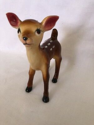 Super Cute Vintage Bambi Fawn Deer Ornament