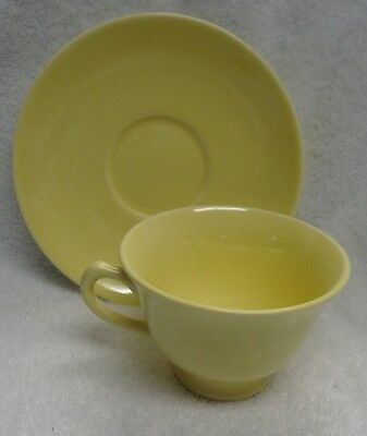 Lu Ray Pastels Yellow   Cup and Saucer