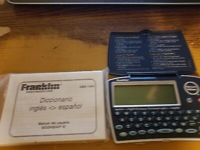 Franklin Merriam-Webster Spanish-English Dictionary DBE-1450 Free shipping