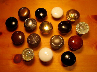 Lot of 16 Old Door Knobs Victorian Door Hardware Vintage Interior Door Knob