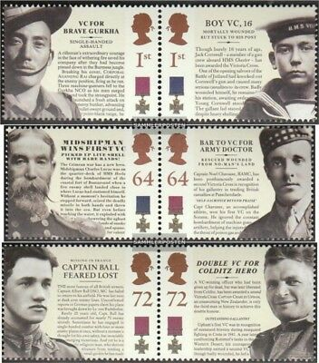 United Kingdom 2440-2445 Couples mint never hinged mnh 2006 Victoriakreuz