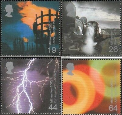 United Kingdom 1848-1851 mint never hinged mnh 2000 Fire