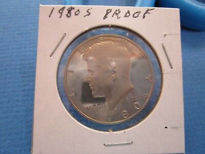 1980 S Kennedy Half Dollar Gem Deep Cameo Proof