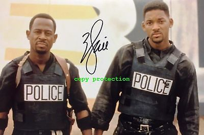 1394 Will Smith, Autogramm Foto, Bad Boys, Harte Jungs