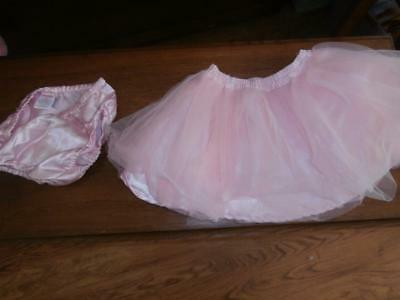 Gymboree Toddler Girl's Pink Tulle Skirt Dance Ballet & Panties 2T
