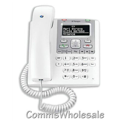 BT Paragon 550 Telephone Answering Machine with Caller ID & RJ10 Headset port
