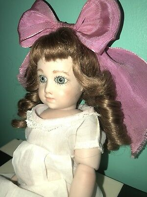 Adorable Jumeau Bebe Doll Antique Style French Porcelain Doll Artist Marked 89