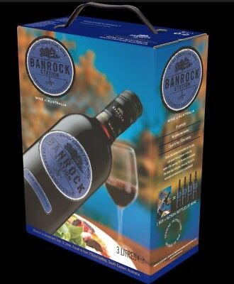 9L BANROCK STATION CABERNET SAUVIGNON ROTWEIN 2016 3x3L Bag in Box *Sonderposten