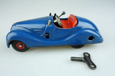Alter Schuco Examico 4001 Blech Made in US Zone Germany vintage tin car 107107