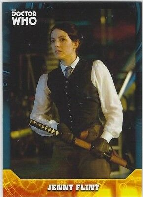 Doctor Who Signature Series base card #56 JENNY FLINT (2017) Topps