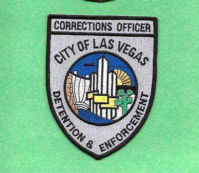 Nevada-Las Vegas Corrections Officer- Large/fully Embroidered-Nice Looking