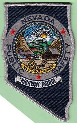 J4 * Department Of Public Safety Hp Nevada State Shape Police Swat Patch