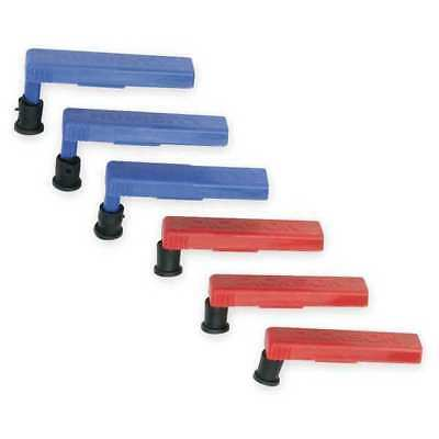 DICKSON P246 Replacement Pen Kit, 3 Red, 3 Blue
