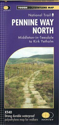 Pennine Way North - Greenhead to Kirk Yetholm National Trail 1:40 000 XT40 map