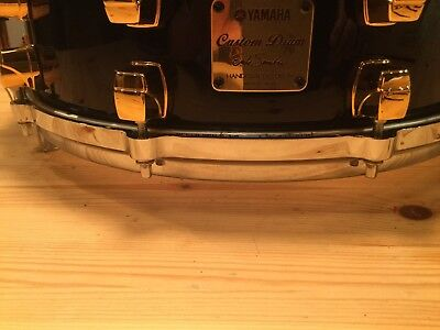 Yamaha Snare Custom Drum Erik Smith Handcrafted