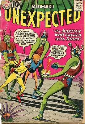 Tales Of The Unexpected # 64 - Space Ranger - Bob Brown Art - Cents Copy