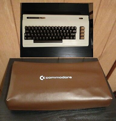 CommodoreVIC 20 - Computer Keyboard  with dust cover rare vintage