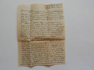 WWII Letter 1945 Liberated Prisoners Santa Rosa Luzon Military World War Two WW2