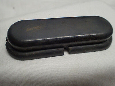 Original rubber pad insert from stock of Lee Enfield No.5 jungle carb. V.G. cond