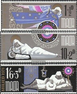 Malta 433-435 (complete.issue.) unmounted mint / never hinged 1971 christmas