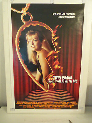 Original 1992 ROLLED 1-Sheet 27x41 Poster TWIN PEAKS - FIRE WALK WITH ME