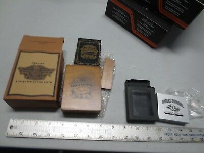 HARLEY DAVIDSON Deck of Playing Cards w/ Case & Roadhog Collection Dice (NEW)