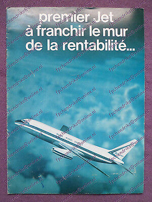 Brochure Avions Marcel Dassault - Mercure Mirage Falcon - French 8 Pages 1969