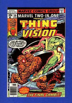 Marvel Two-In-One #39 Nm+ 9.6/9.8 High Grade Bronze Age Marvel Comic