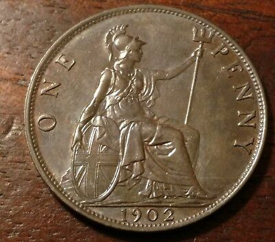 1902 Great Britain One Penny 1446